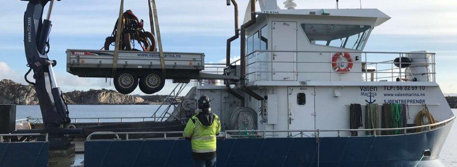 G20 Fastmontert hydraulisk kran.